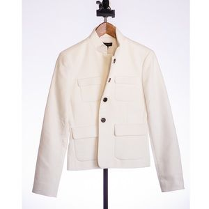 Ann Taylor White Jacket (New! tags still attached)